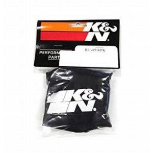 画像2: K&N(ケーアンドエヌ) プリチャージャー ブラック カスタムフィルター ラウンドストレート用 φ89x127mm RU-0510PK