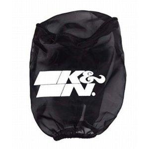 画像1: K&N(ケーアンドエヌ) プリチャージャー ブラック カスタムフィルター ラウンドストレート用 φ89x127mm RU-0510PK