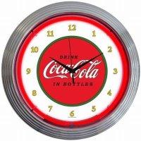 コカコーラCoca-cola1910 ネオンクロック レトロ 壁掛時計