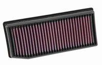 K&N 33-3007純正交換エアフィルター  CAPTUR CLIO/LUTECIA(0.9/1.2TURBO)