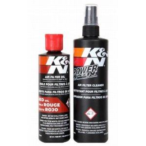画像2: K&N エアーフィルターケアサービスKIT オイル237ml/クリーナー 355ml k&n air filter 99-5050
